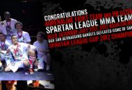 MMA Fight Spartan League Agua Caliente