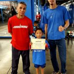Student of the month - Anthony Acosta - Boxing