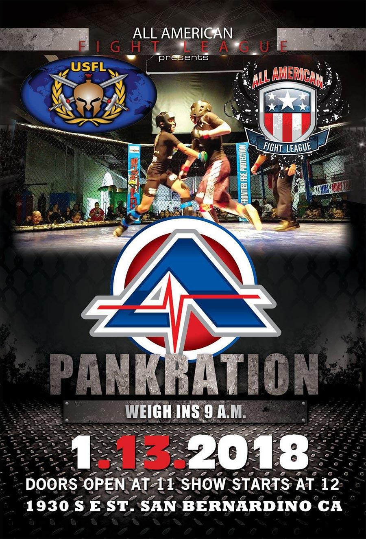AAFL - Pankration Fight San Bernardino