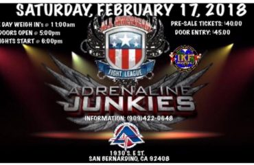 Muay Thai Events San Bernardino, CA