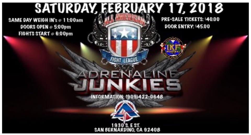 Muay Thai Events San Bernardino, CA