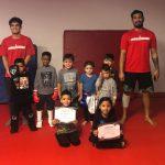 Muay Thai Students - Melanie Perez, Geo Espino