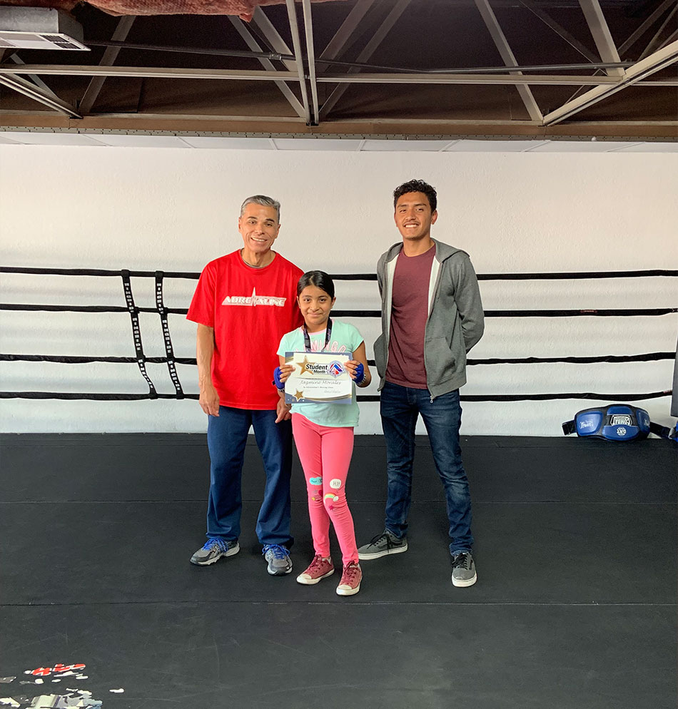 Kid's Boxing Student of the Month